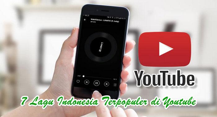 Lagu Indonesia terpopuler di youtube