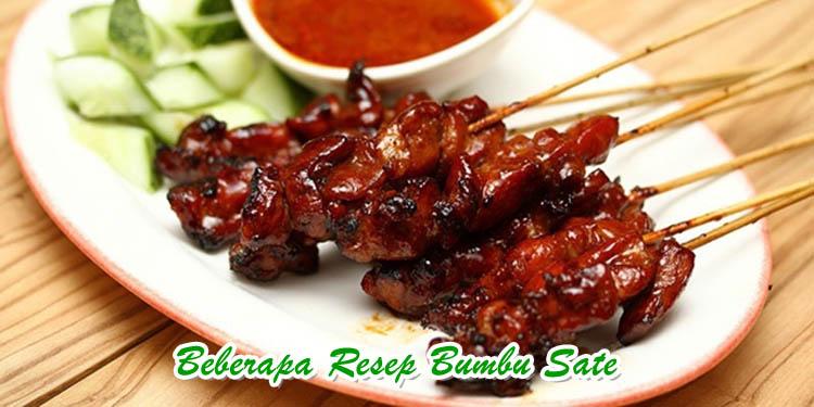 Resep Bumbu sate